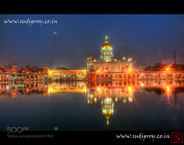 Photograph Bangla Shahib Gurdwara by SUDIP ROY on 500px