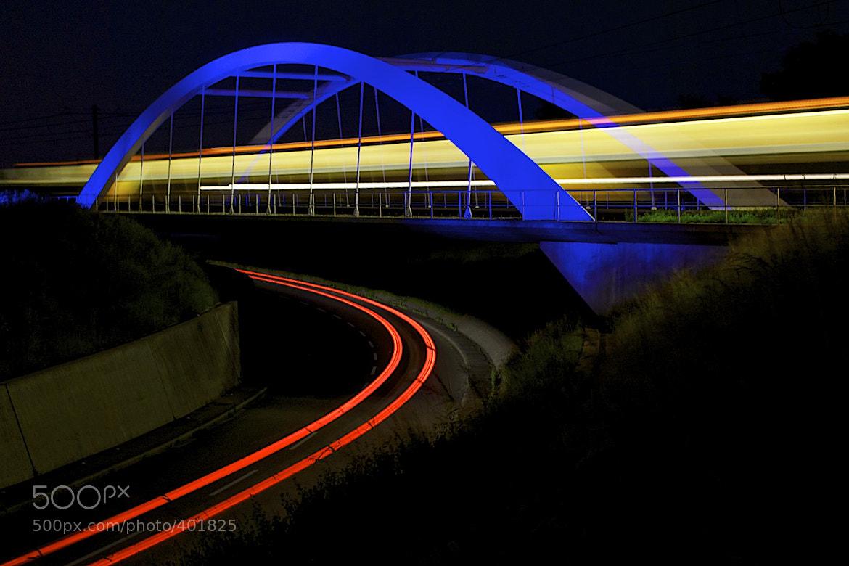 Photograph Blue Bridge by Mark  on 500px