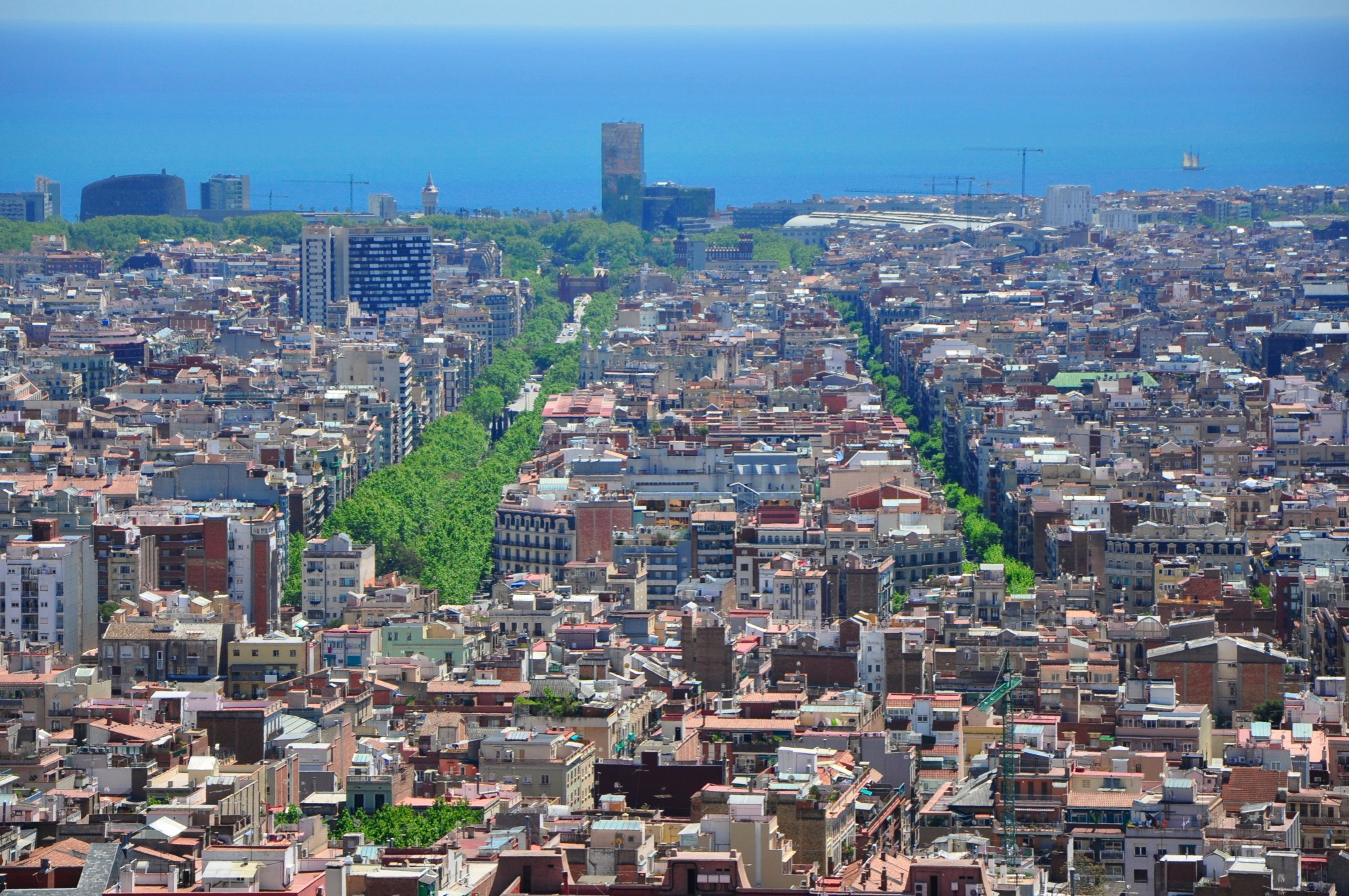 Photograph Barcelona's Roofs by MaxPro  on 500px