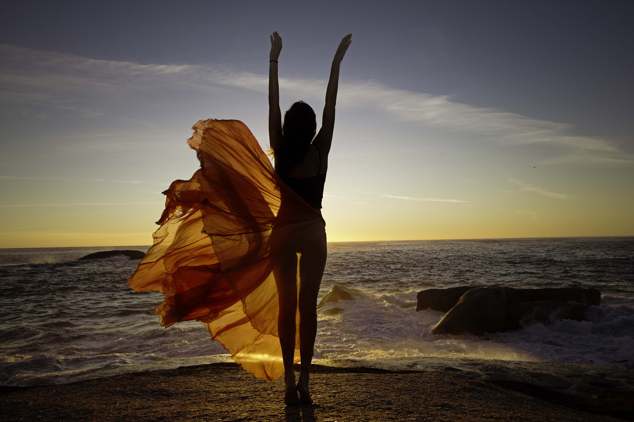 Photograph Dance with sunset by Gabriela Slegrova Solms on 500px