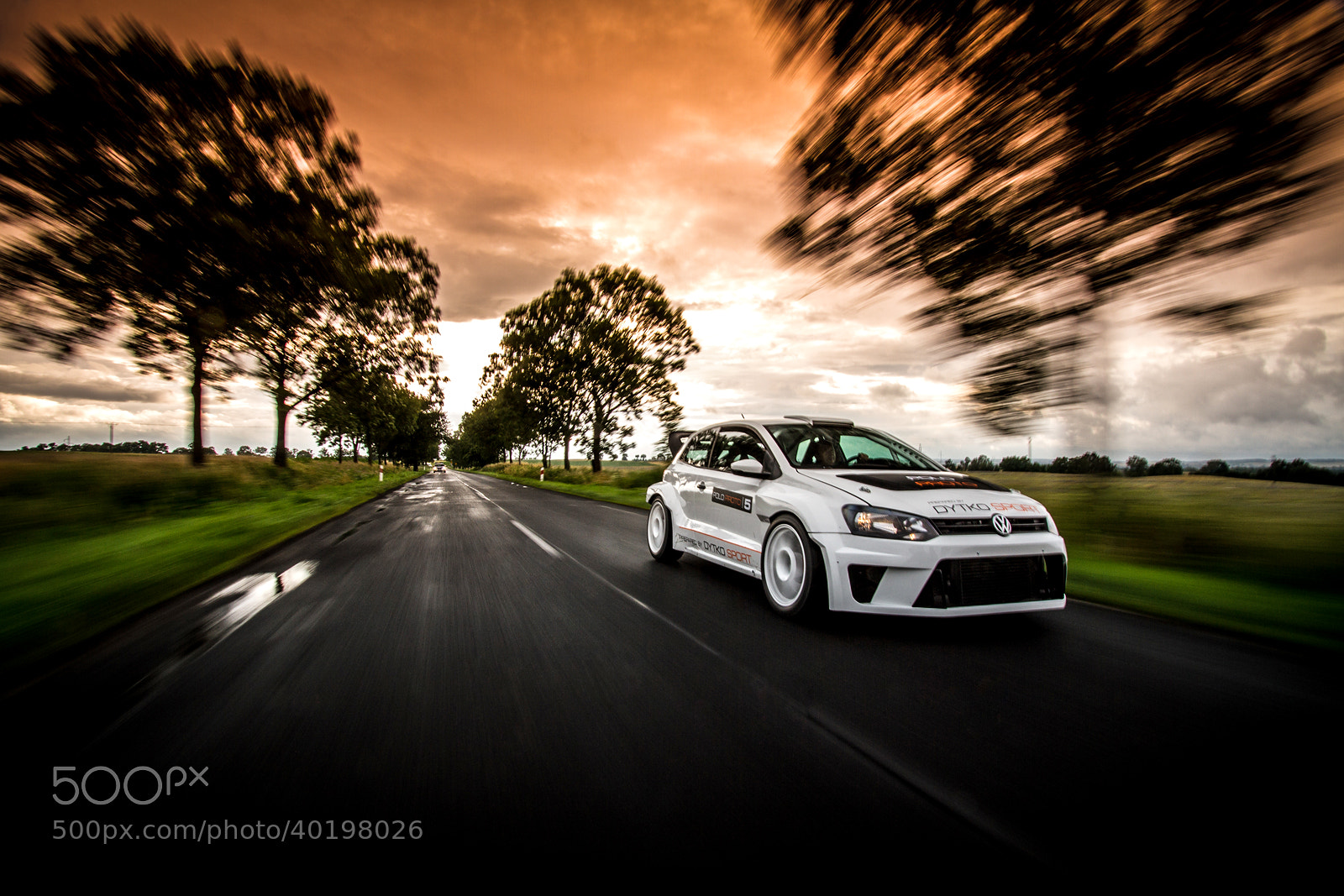 Photograph Polo Proto Rally Car by Maciej Niechwiadowicz on 500px