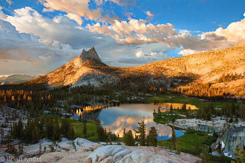 Photograph Cathedral Lakes Sunset by Brian Knott (FMKphoto) on 500px