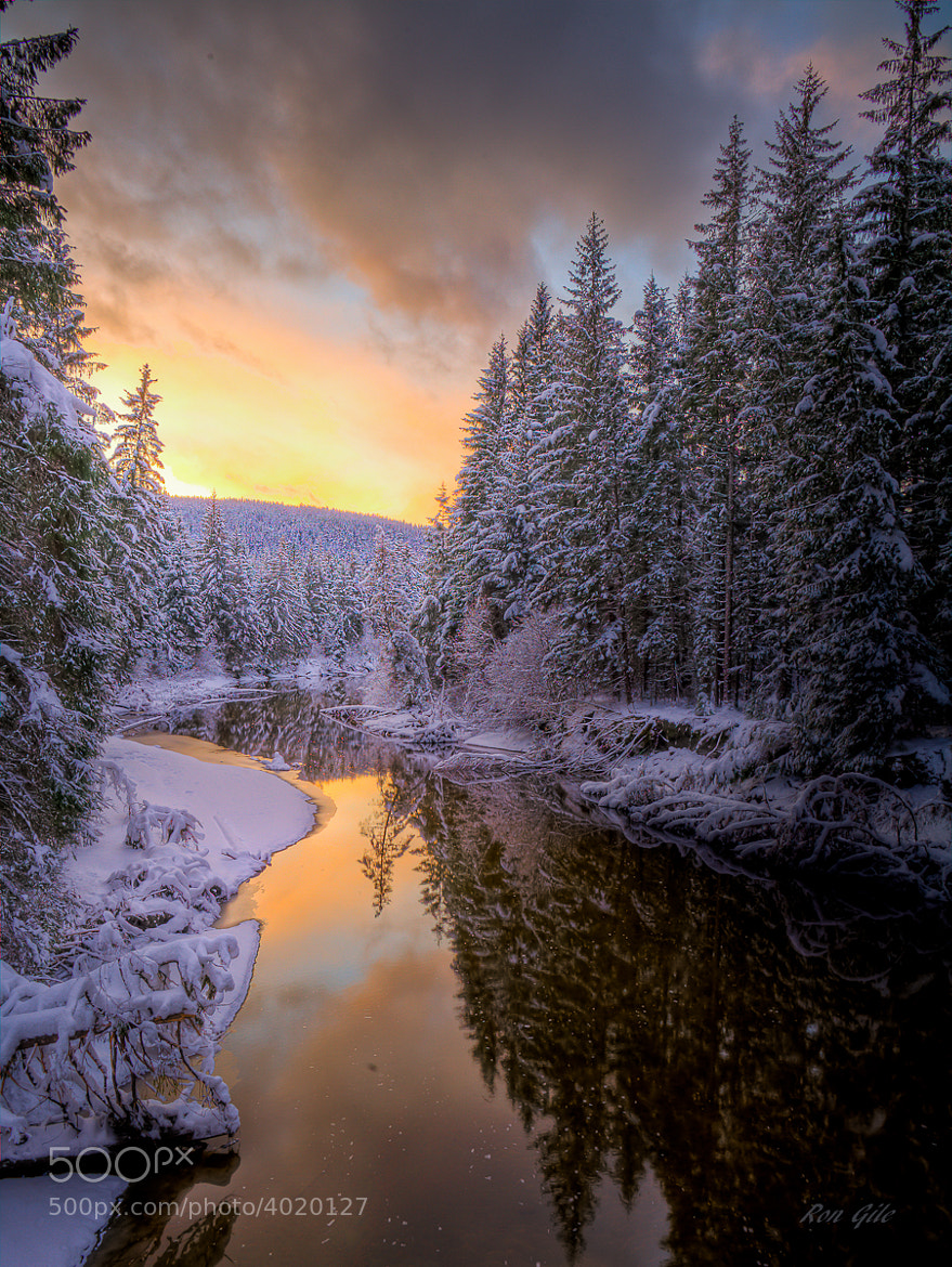 Photograph Eagle River sunset by Ron Gile on 500px