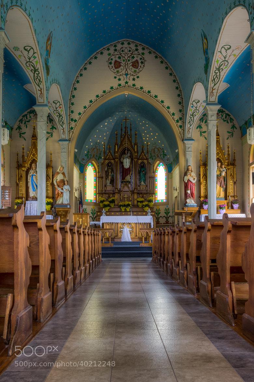 Photograph Painted Church, Dubina by Erik Pronske on 500px