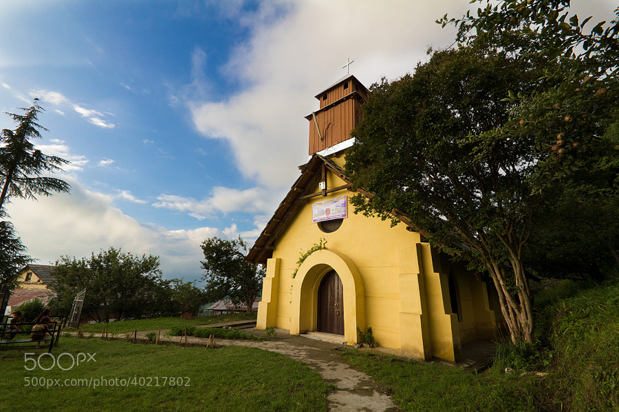 Photograph St Mary Church, Kotgarh by Himachal Geographic on 500px
