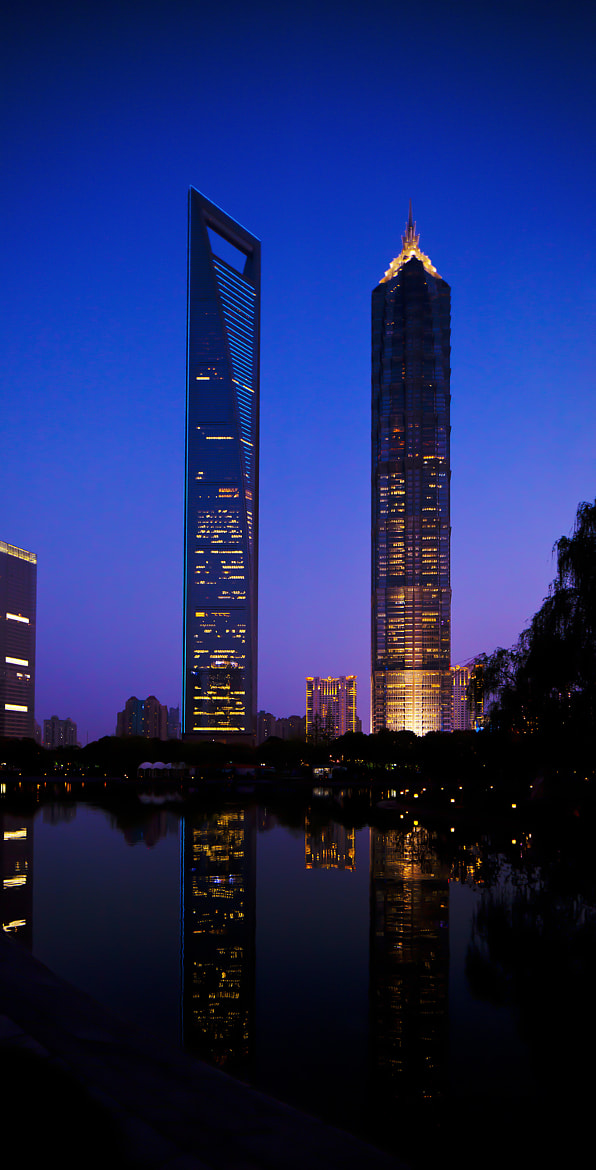 Photograph SWFC and Jin Mao Tower by MG Moscatello on 500px