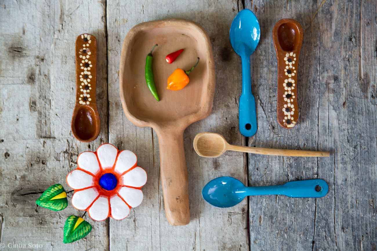Photograph Mexican spoons  by Cintia Soto on 500px