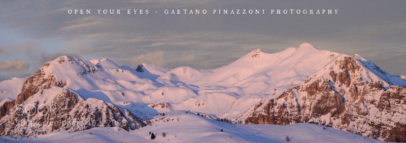 Photograph Sunset light on the mountain by Gaetano Pimazzoni on 500px