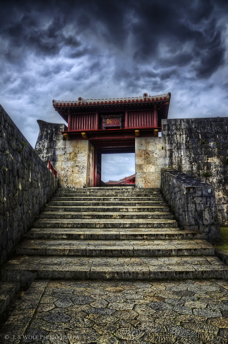 Photograph Red Gate by John Souza on 500px