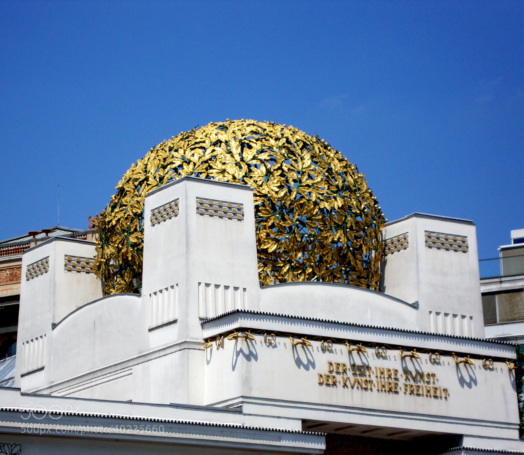 Photograph Vienna Secession by Marie-Louise Titze on 500px