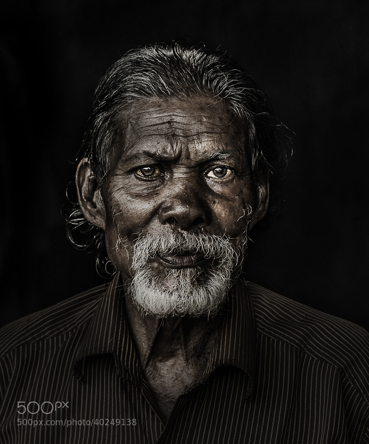 Photograph Tribal elder India 01 by Satheesh Nair on 500px