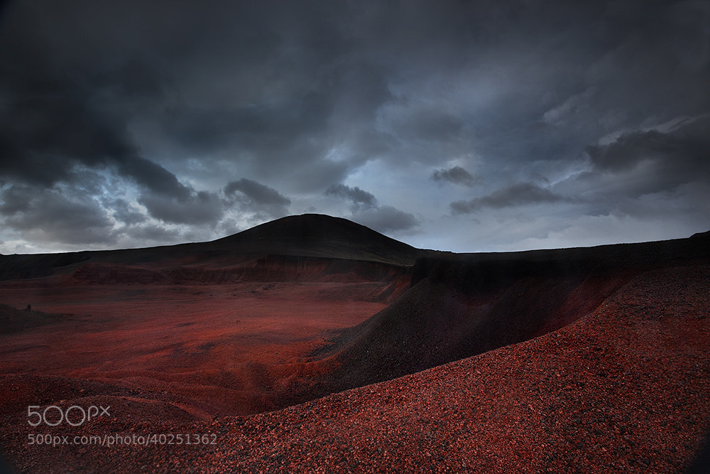 Photograph A Red World by samuel FERON on 500px