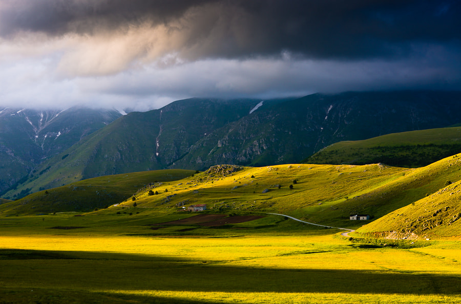 Taken in june 2009 in Gran Sasso in Abruzzo. One of my favorite areas for landscape photography.