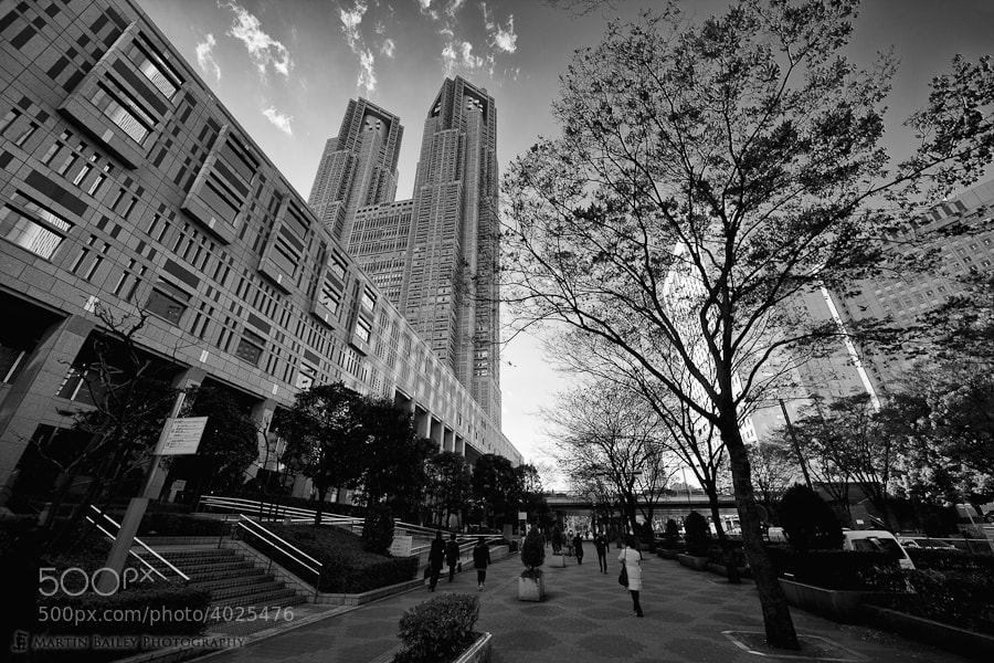 Photograph Tokyo Metropolitan Government Building by Martin Bailey on 500px