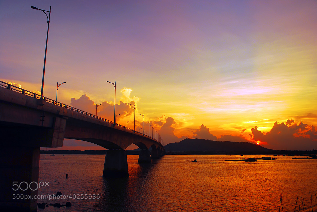 Photograph Cha Va bridge . by Thachhan on 500px