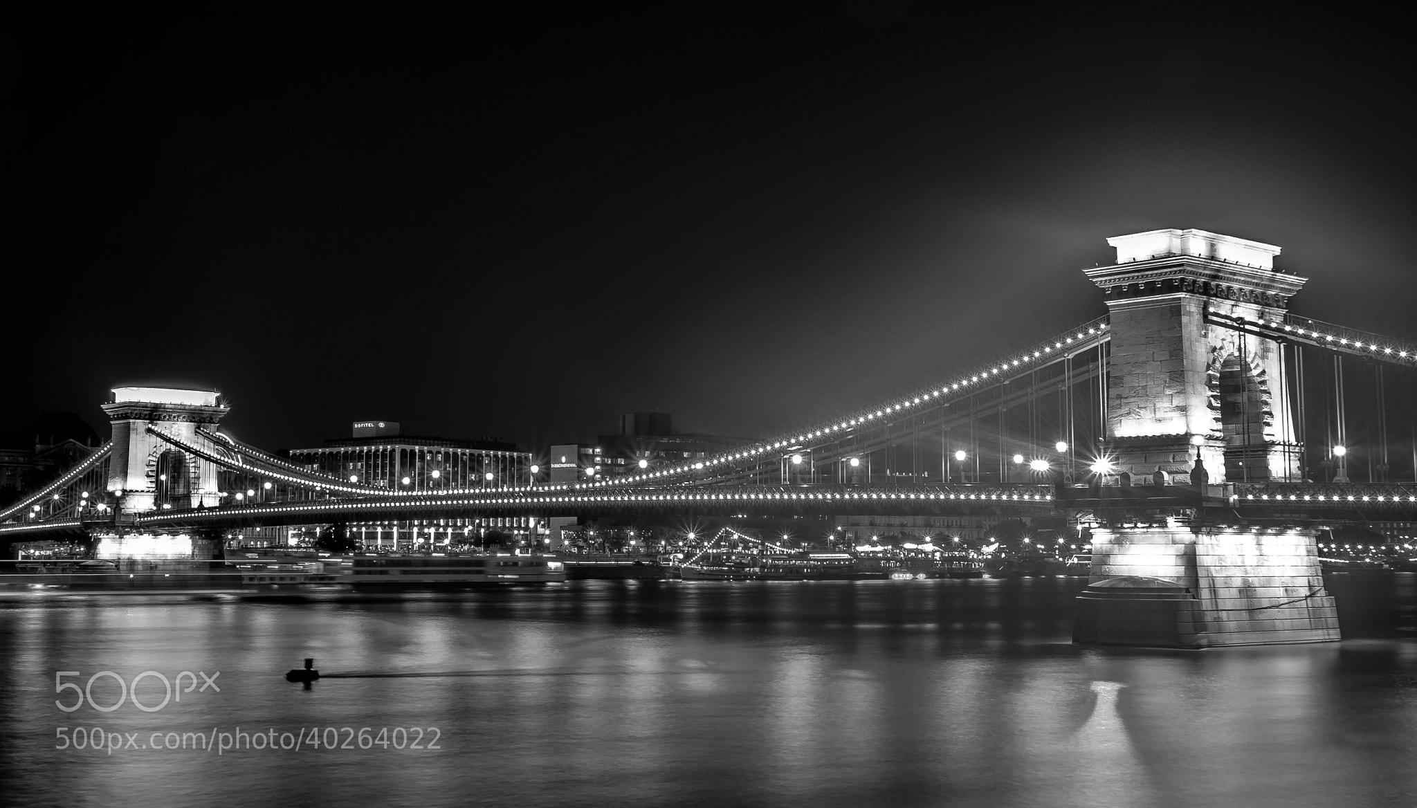 Photograph Chain Bridge B&W by p5000 on 500px