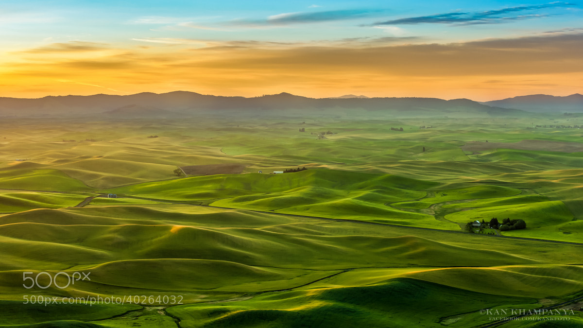 Photograph Good morning Palouse by Kan Khampanya on 500px