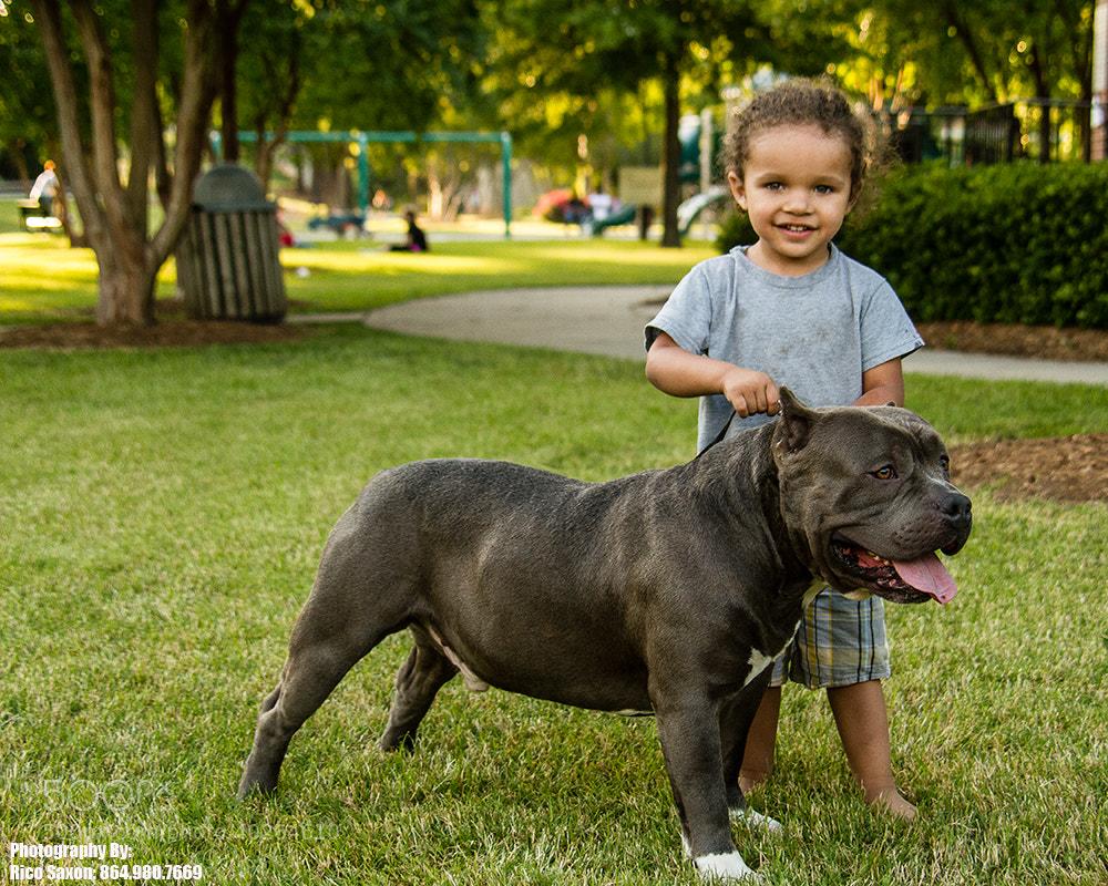 Photograph Child's Best Friend by Rico Saxon on 500px