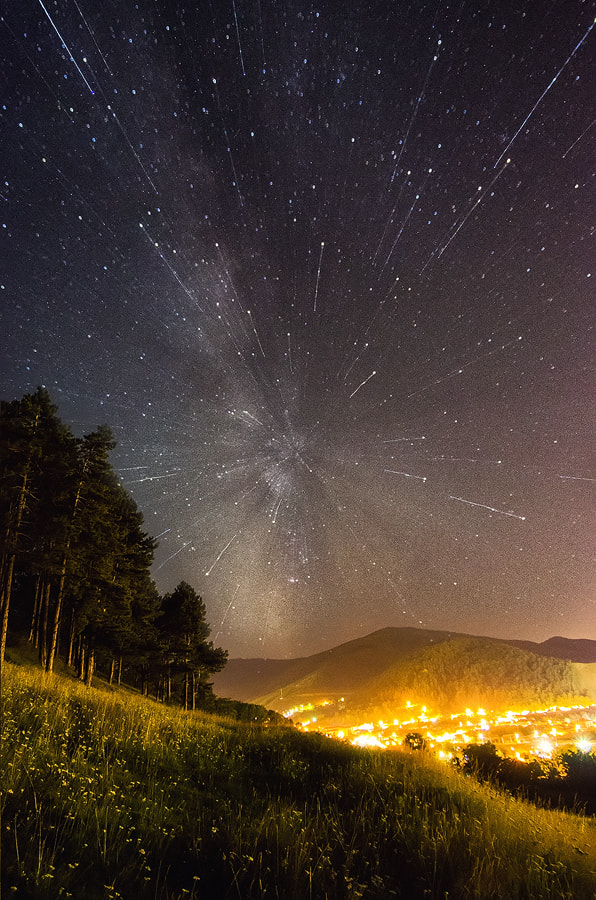 Photograph Starfall by Mogan Andrei on 500px