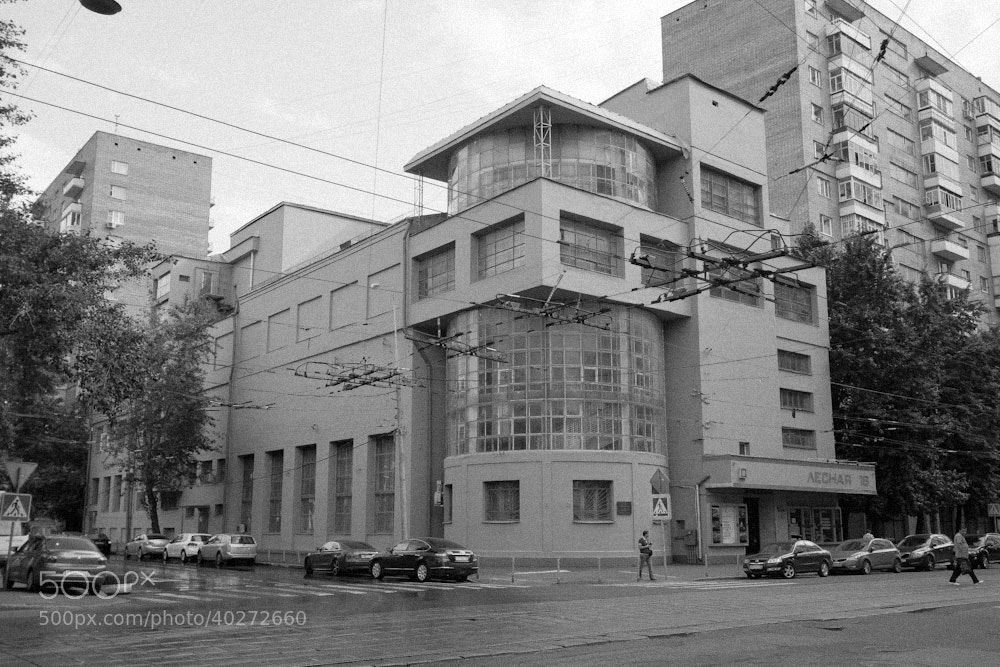 Photograph Zuev Workers' Club, 1928 by Alexander Zhemchugov on 500px