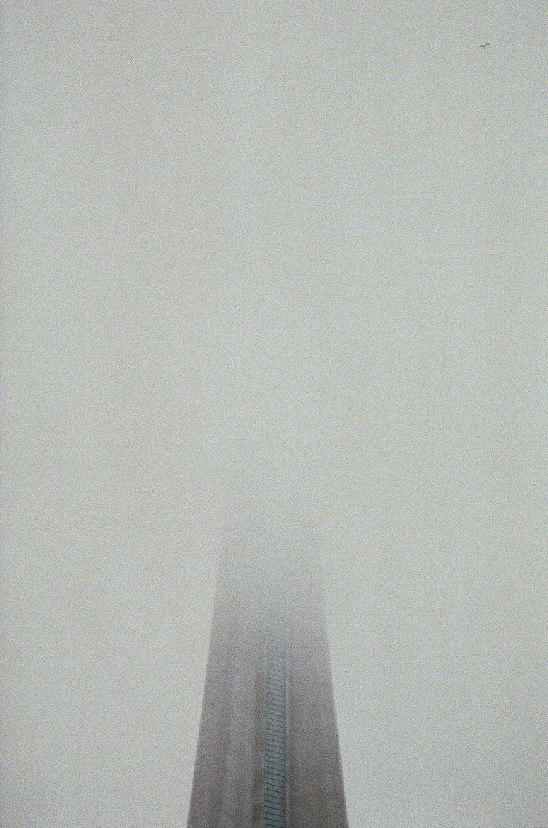 Photograph CN Tower in the Fog by Andrea Gimblett on 500px