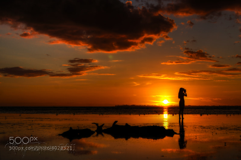 Photograph Sunset Silhouette  by Geoff Thomas on 500px