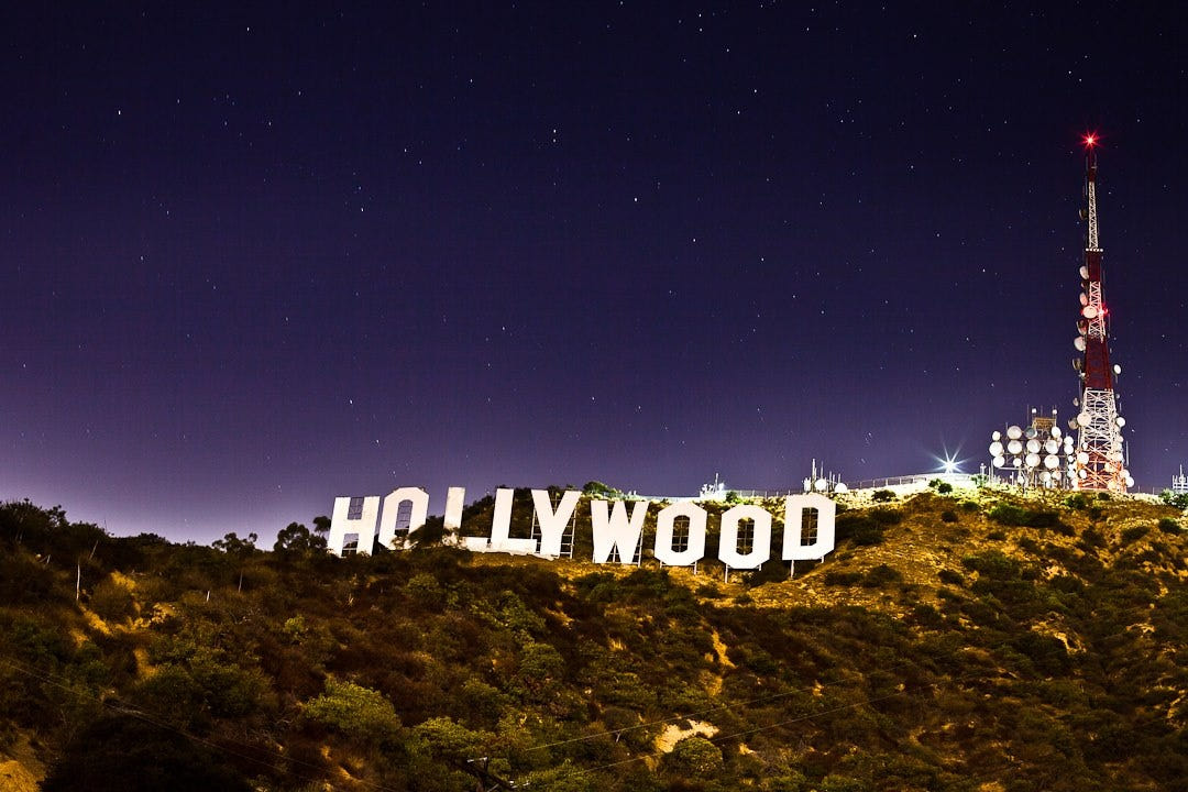 The Hollywood Sign by Night by Tim Monson - Photo 40287552 ...