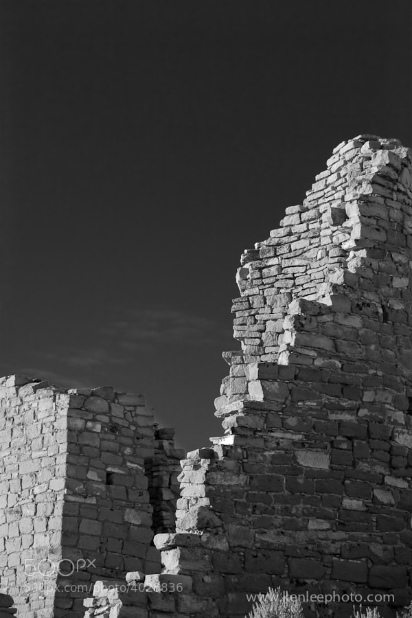 Photograph Square Tower Ruin, Hovenweep National Monument by Ken Lee on 500px