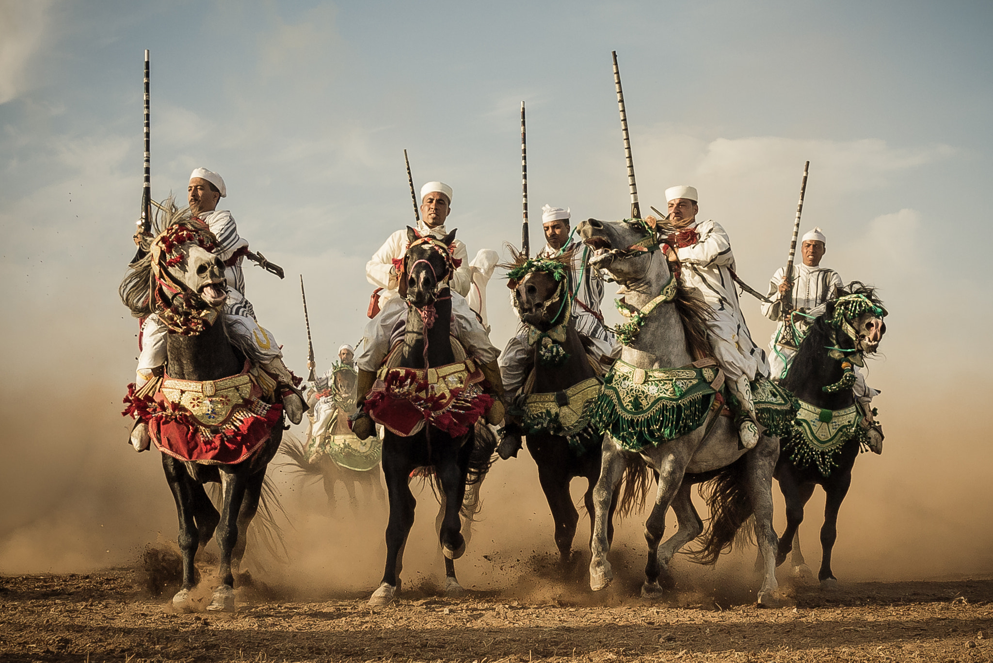 Photograph Fantasia Riders by Amine Fassi on 500px