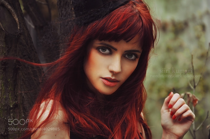 Photograph sexy redhead by Siiri  Kumari on 500px