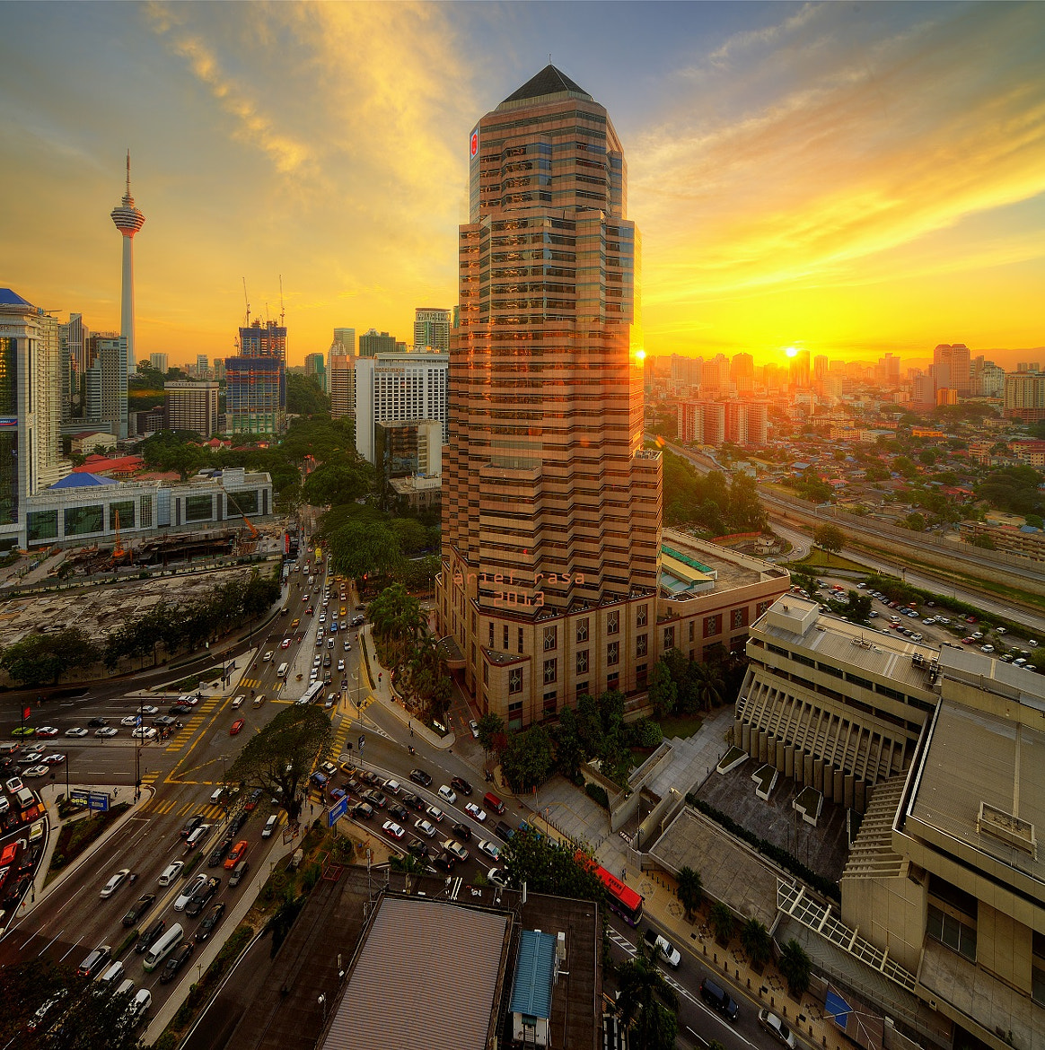 Photograph Golden Hour Cityscape by Kamrul Arifin on 500px