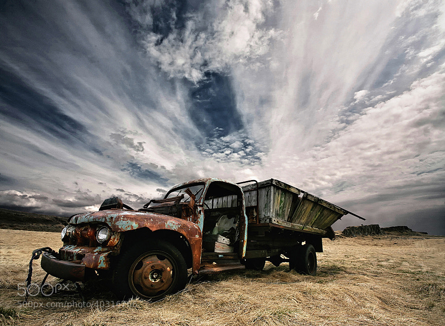Photograph Rusty Truck by Þorsteinn H Ingibergsson on 500px