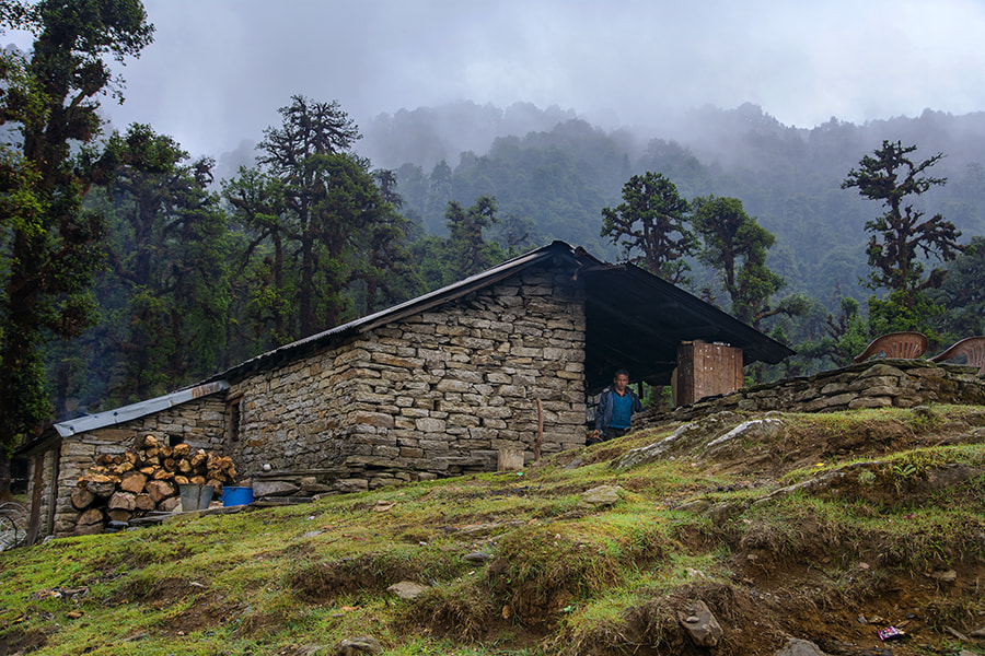 Photograph Hilltop Cabin by Sourik Ghosh on 500px