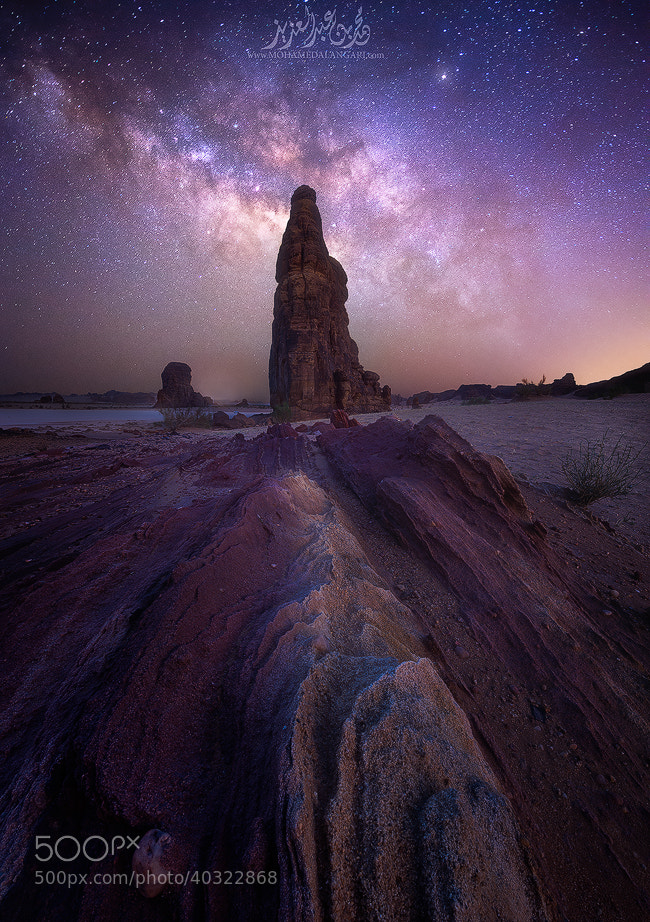 Photograph  Milky Way by Mohammed  Bin Abdulaziz on 500px