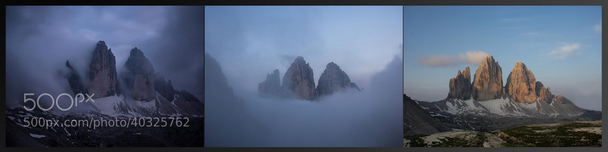 Photograph 3 Zinnen - Dolomiti by Martin Peintner on 500px