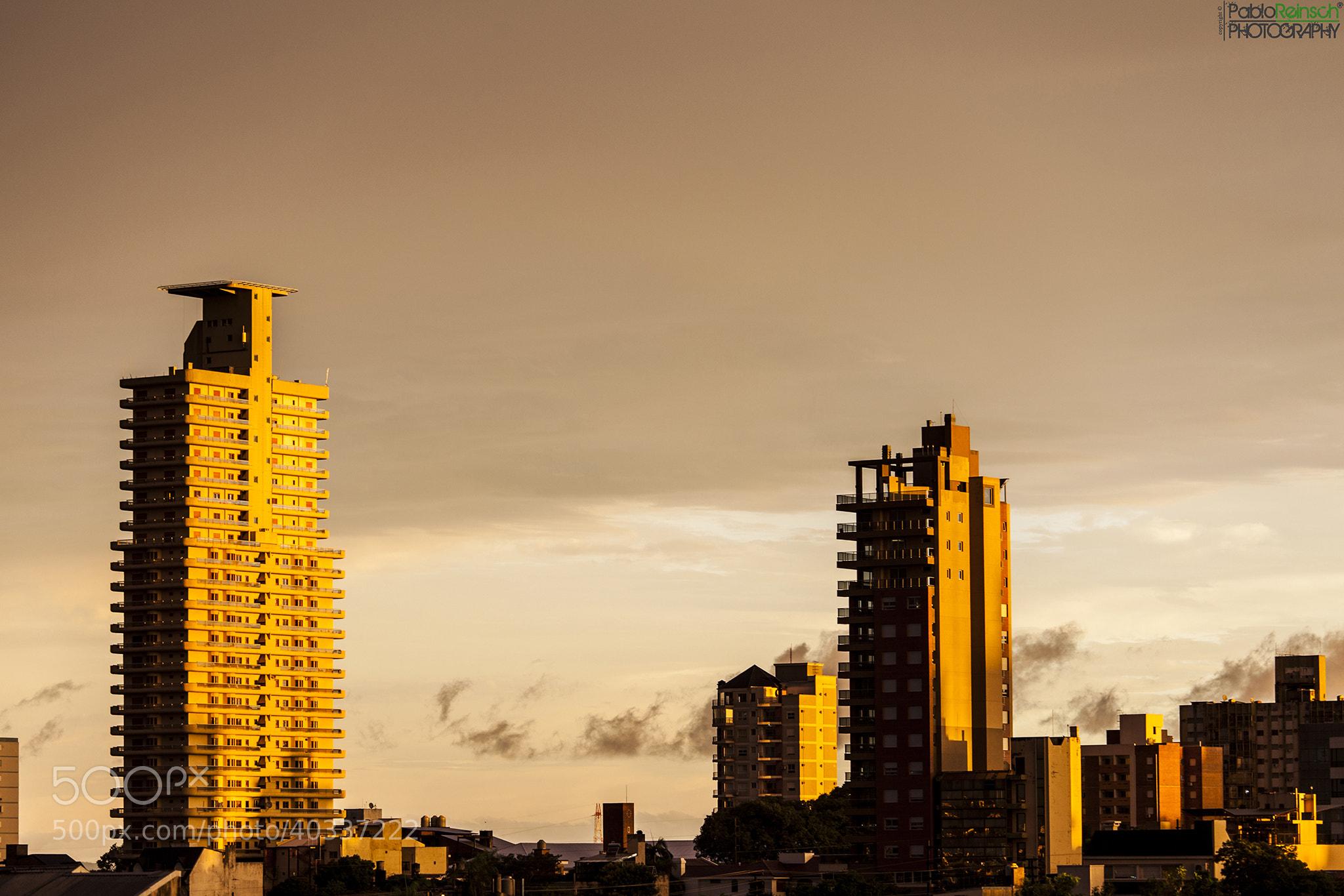 Photograph Edificios dorados.- by Pablo Reinsch on 500px