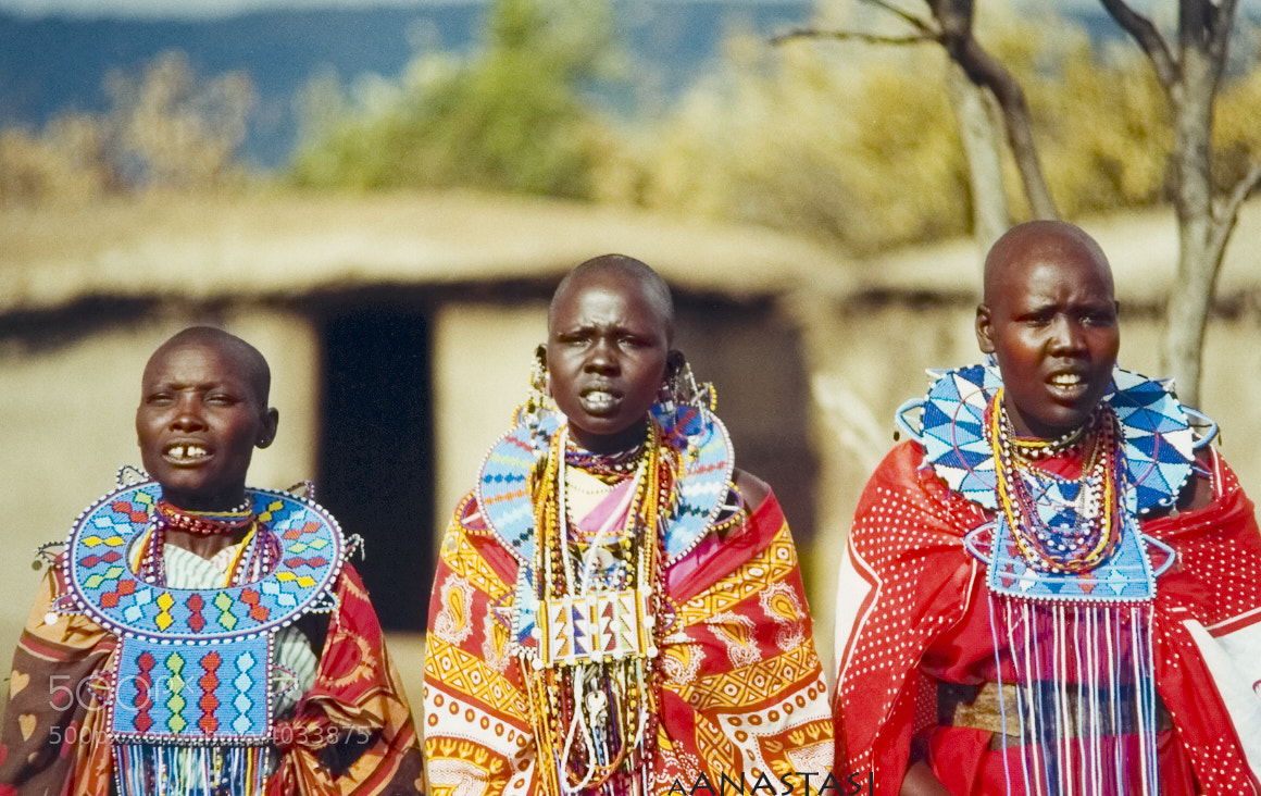 Photograph Maasai singers by tasos anastasiou on 500px