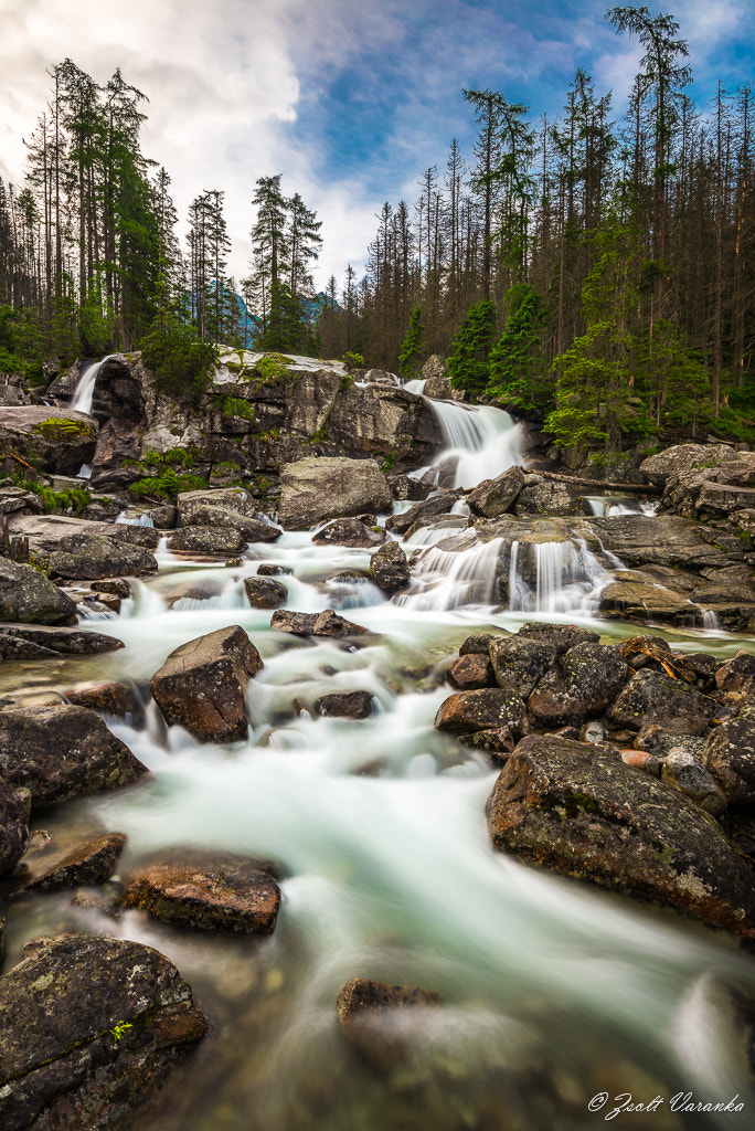 Photograph Dlhý vodopád (Long waterfall), Tatras by Zsolt Varanka on 500px