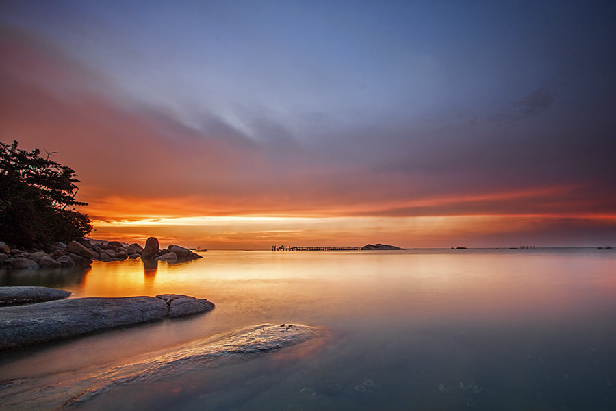 Photograph Tranquility of Twilight by Sonni Suryatmojo on 500px