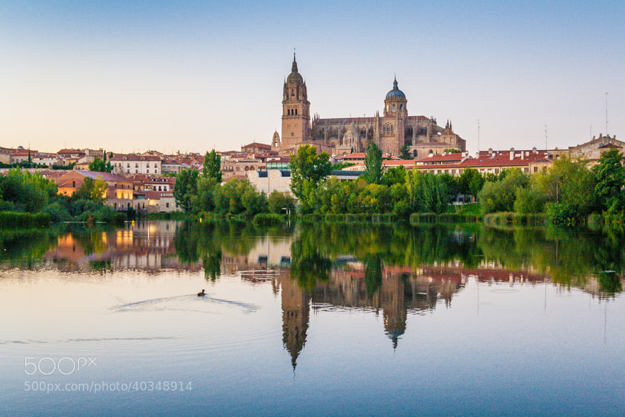 Photograph Reflejos de Salamanca by Jose Agudo on 500px