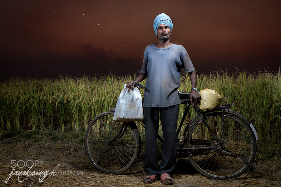 Photograph Migrant worker of Punjab by Dakku Singh on 500px