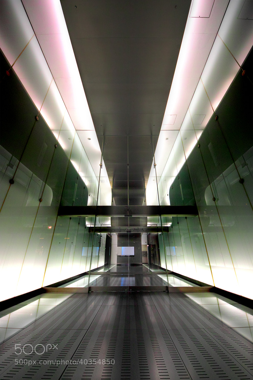 Photograph Spaceship Corridor  by Azul Obscura on 500px