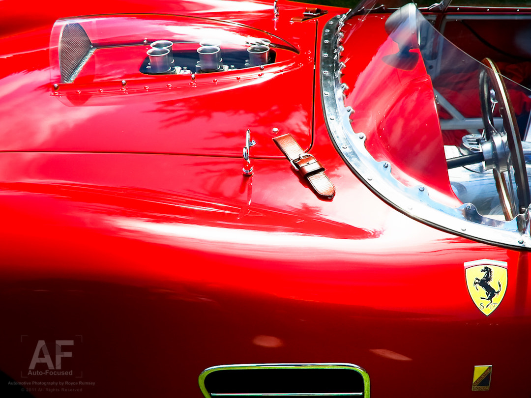 Photograph Testa Rossa Hood, Cowl and LFQP Details by Royce Rumsey on 500px