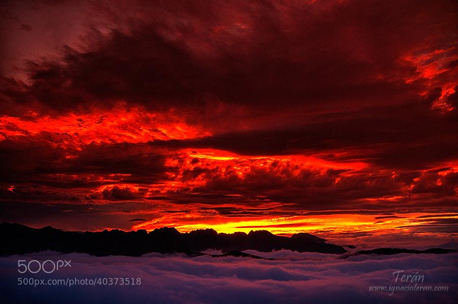 Photograph Fire in the sky by Jose Ignacio Teran on 500px