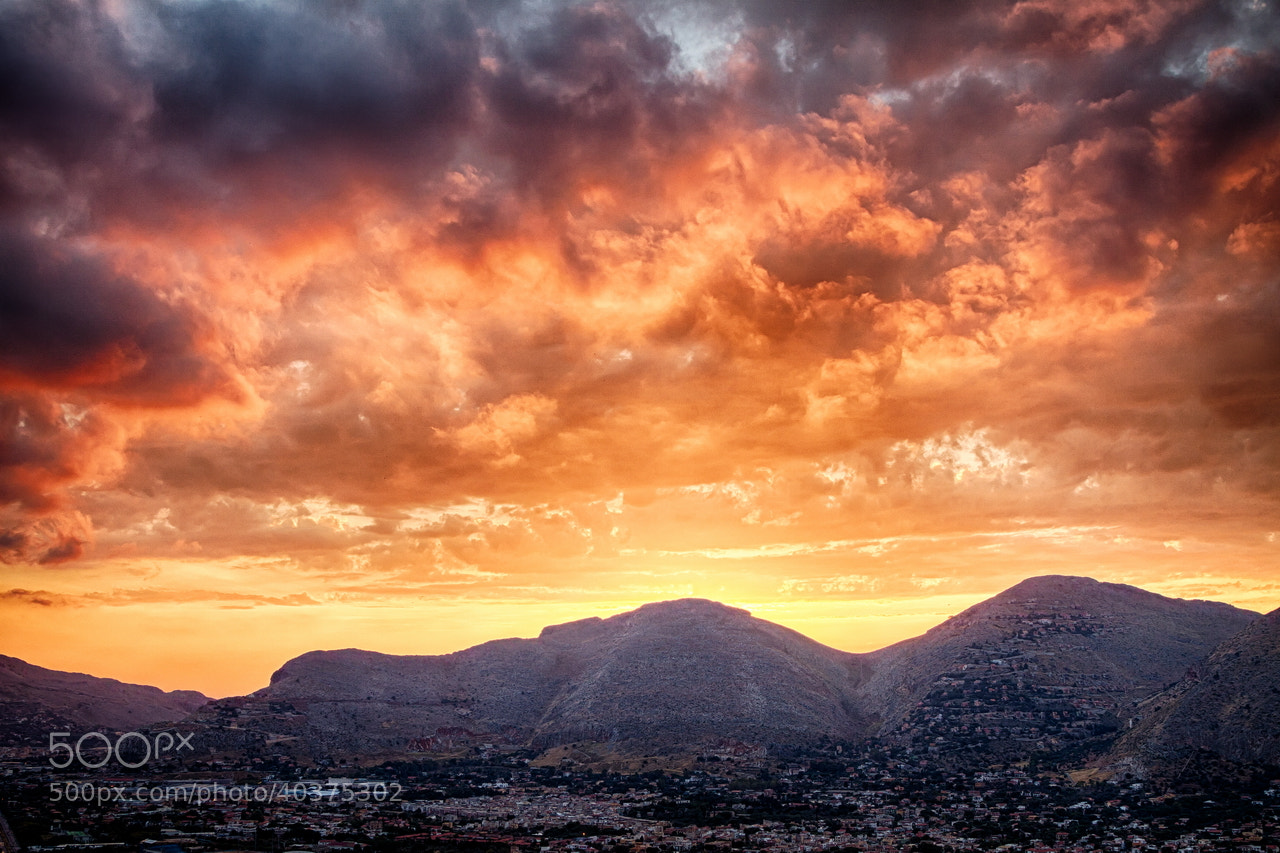 Photograph Mondello Sunset by Viacheslav Savitskiy on 500px