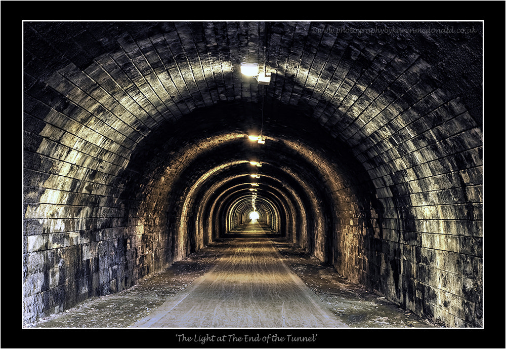 Photograph The Light at the End of the Tunnel by Karen McDonald on 500px