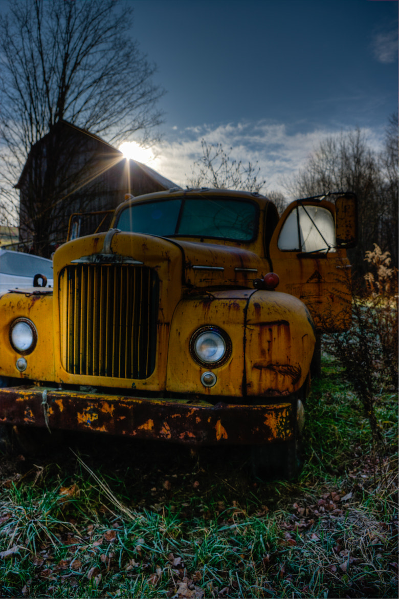 Photograph Frosty Truck by Mia Lisa Anderson on 500px