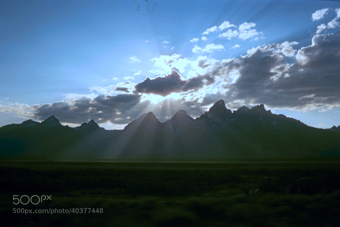 Photograph The Tetons by Aiken Fisher on 500px