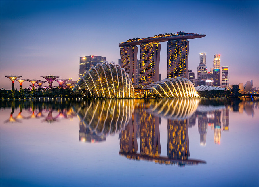 Beautiful City of Singapore by Kapitan Smaltisimo (RJBinghay) on 500px.com