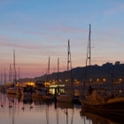 Waterford Quays after Sunset